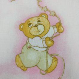 בד כותנה מודפס לתינוקות וילדים